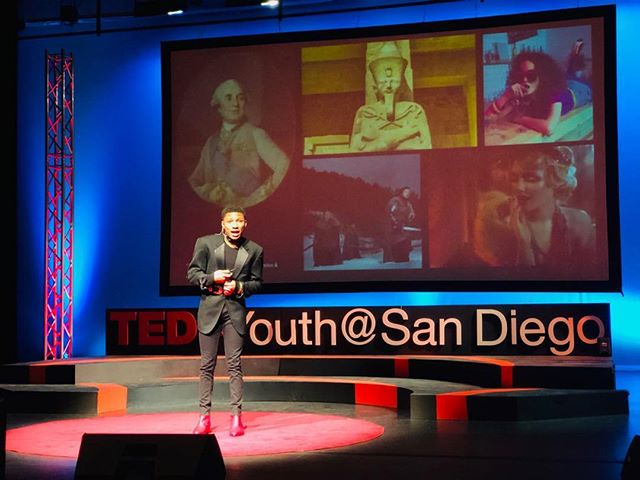 The more u practice the more of an authentic experience u can have with your audience.  U nailed your #dressrehearsal @couturecum - you're ready for your @tedxyouthsandiego talk tomorrow! #tedtalks #speakercoach