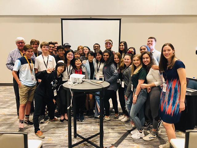 Thank you @stnnow for your passion, your fearlessness, and your willingness to learn.  Making 📺 isn't easy but with that winning combination, it won't even feel like work. 🙏 Ben, JJ, and Doug Green from @chstvworldwide for your help. Teamwork makes the dream work! #workshop #STN2019 #broadcast #videomarketing #media-training #communications