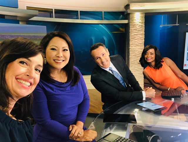 It's always a pleasure to work with this talented and professional crew!@cbs8sandiego