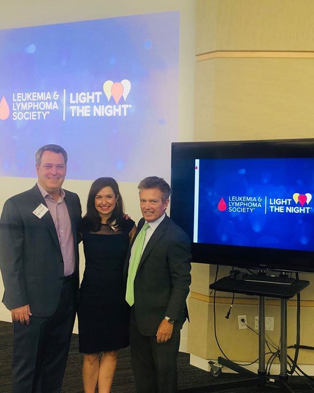 In the US, a new cancer diagnosis comes every three minutes.  Help us bring light to the darkness and #fightbloodcancer #lightthenight @leukemialymphomasociety @jack_e_kelly64