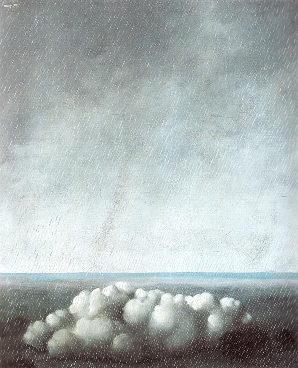 Rene Magritte, Le Chant de l'Orage (the Storm's Song) 1937