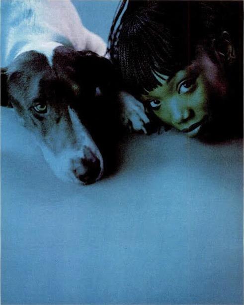 Brandy, vibe magazine april 98 photographed by cleo sullivan