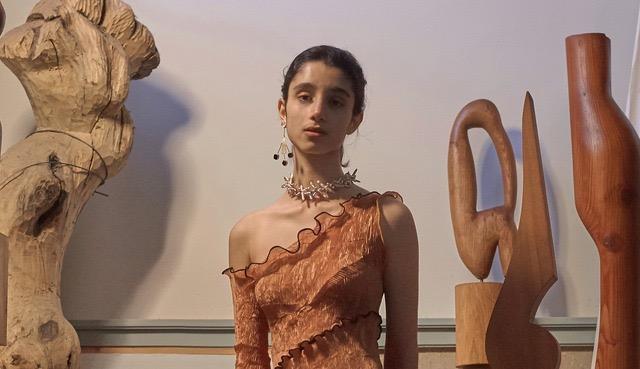 Saana Mizraie for Peet Dullaert SS18