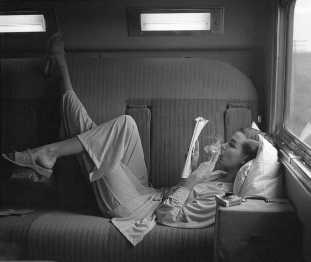 Lillian Bassman, Southwest Passage-Sunset Pink, 1951