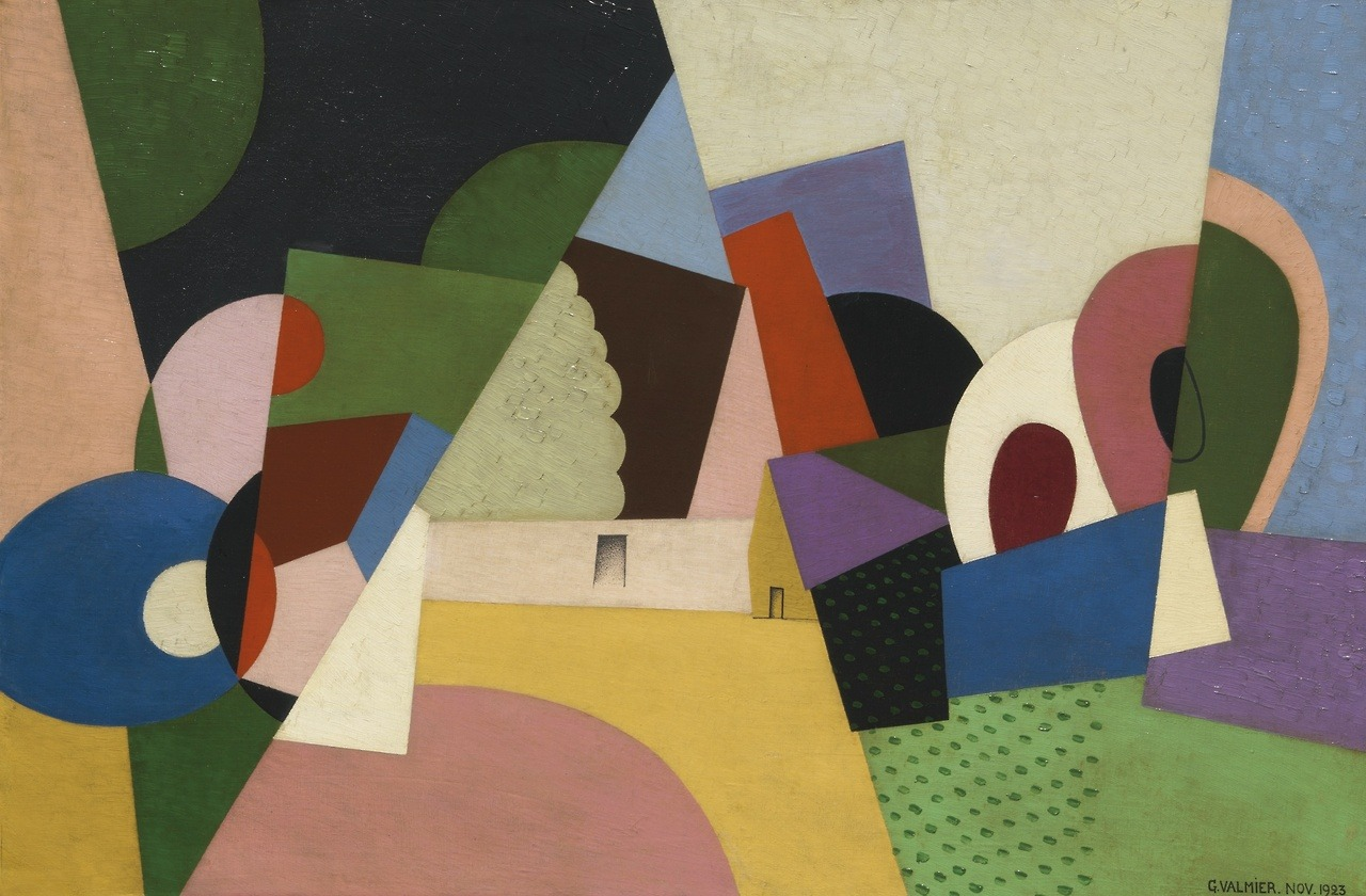 Georges Valmier - Paysage, 1923.