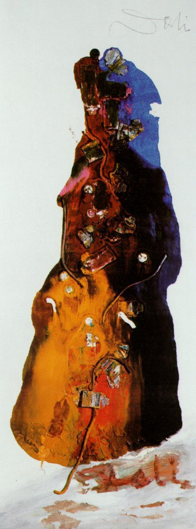 Untitled (The Lady of Avignon), 1960, Salvador Dali