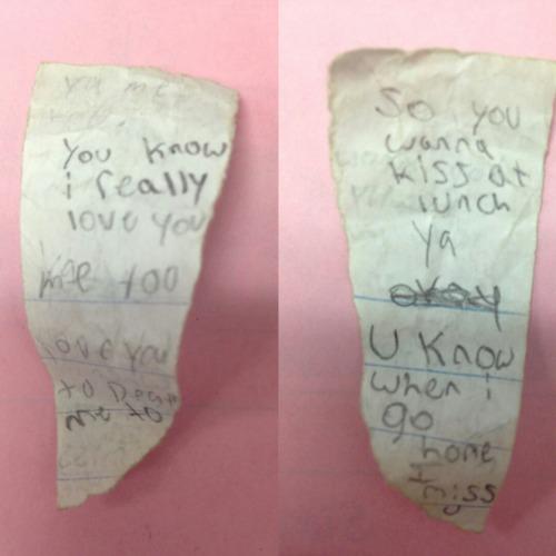 6th grade love notes