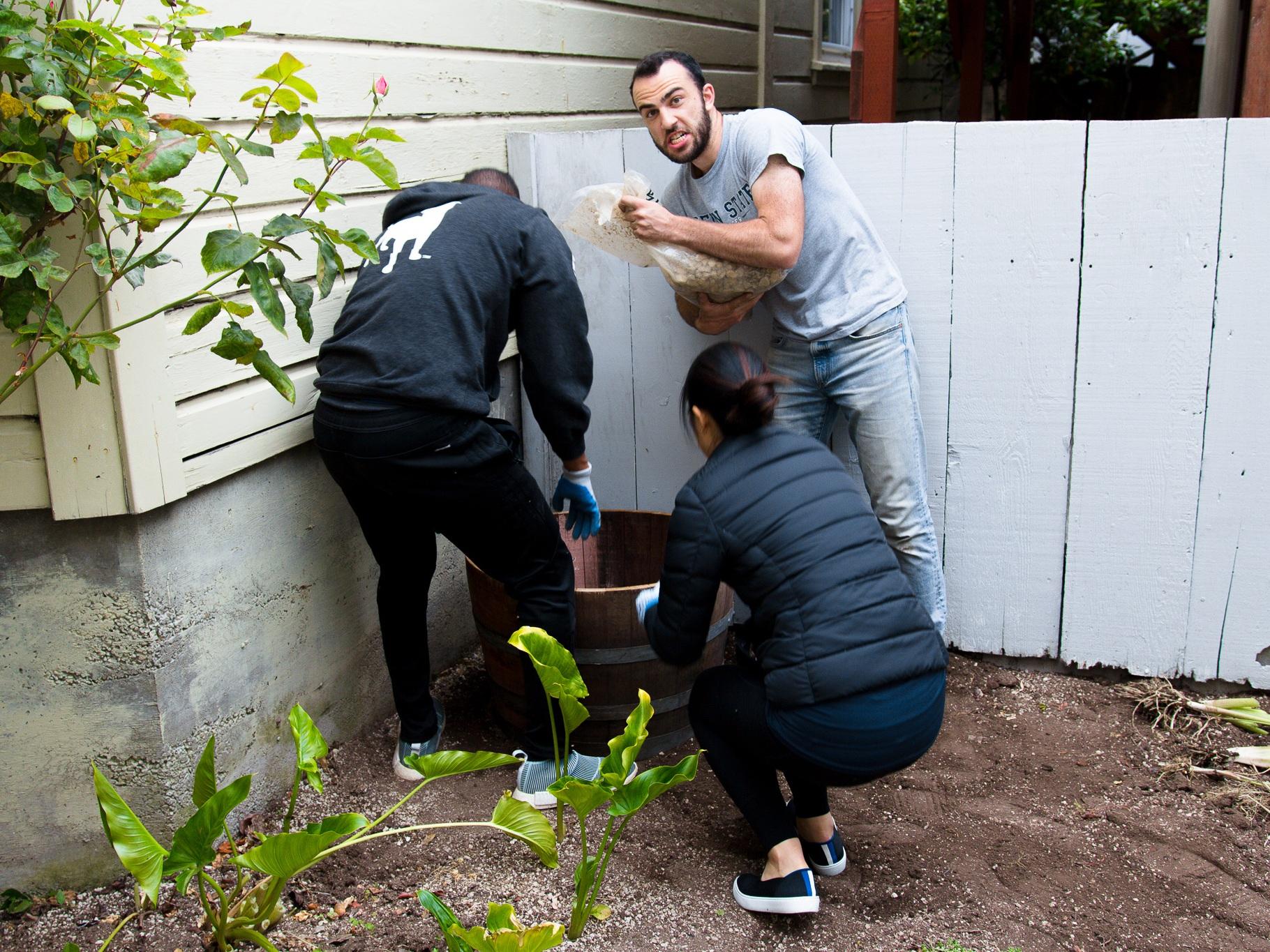 Planting things