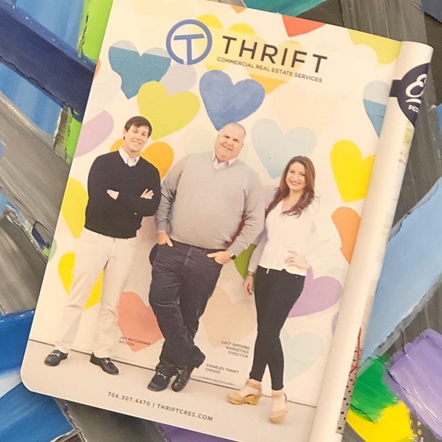 Look who's in THE SCOUT GUIDE! 😍 Very proud of the handsome guy in the middle.  No one works harder. ❤️ @thriftcres @tsgcharlotte
