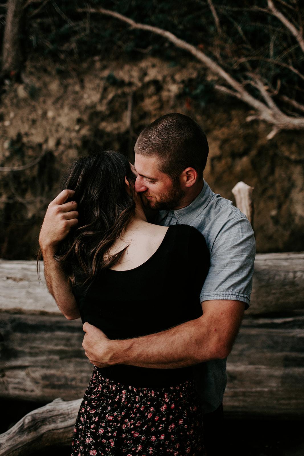 Chuckanut-Clayton-Beach-Bellingham-WA-Engagement-Megan-Gallagher-Photography