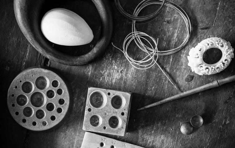 Vogue Italia  Alexandra Mor presents  The Tagua Seed Collection    READ MORE