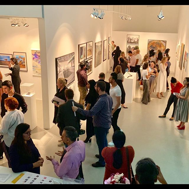 Congratulations to the 'Made-in-Tashkeel 2019' exhibition artists and especially Lisa Ball-Lechgar and her Tashkeel team for curating and staging one of the most energetic, captivating and important group art exhibitions that I have seen to-date in the UAE. Please visit the Tashkeel Gallery in Nad Al Sheba, Dubai this summer,  between today June 19th through August 30, 2019, to enjoy the show of the creatively diverse and expanding art community in the region. @tashkeelstudio #MadeinTashkeel @mestariaofficial @dubaiculture @desertart @mestariaofficial @alfahidineighbourhood @artforumuae #artuae #mikearnoldart #mestaria #alfahidihistoricalneighbourhood #dubaiart #dubai #uaeart #artuae