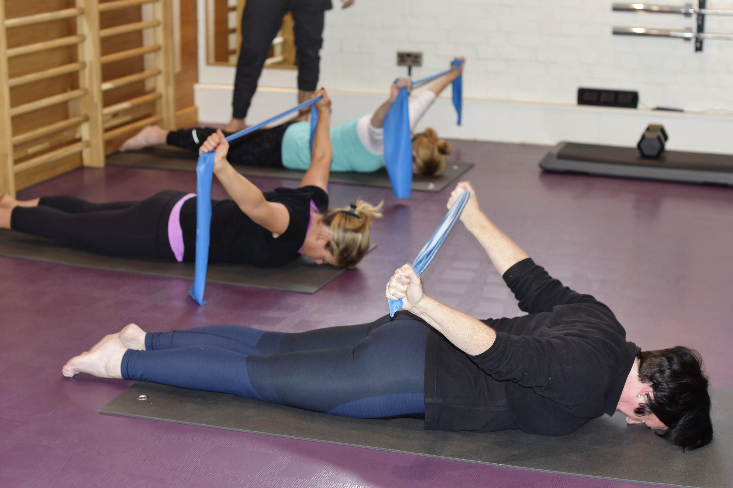 Sports Therapy class at SF Studios Hampstead