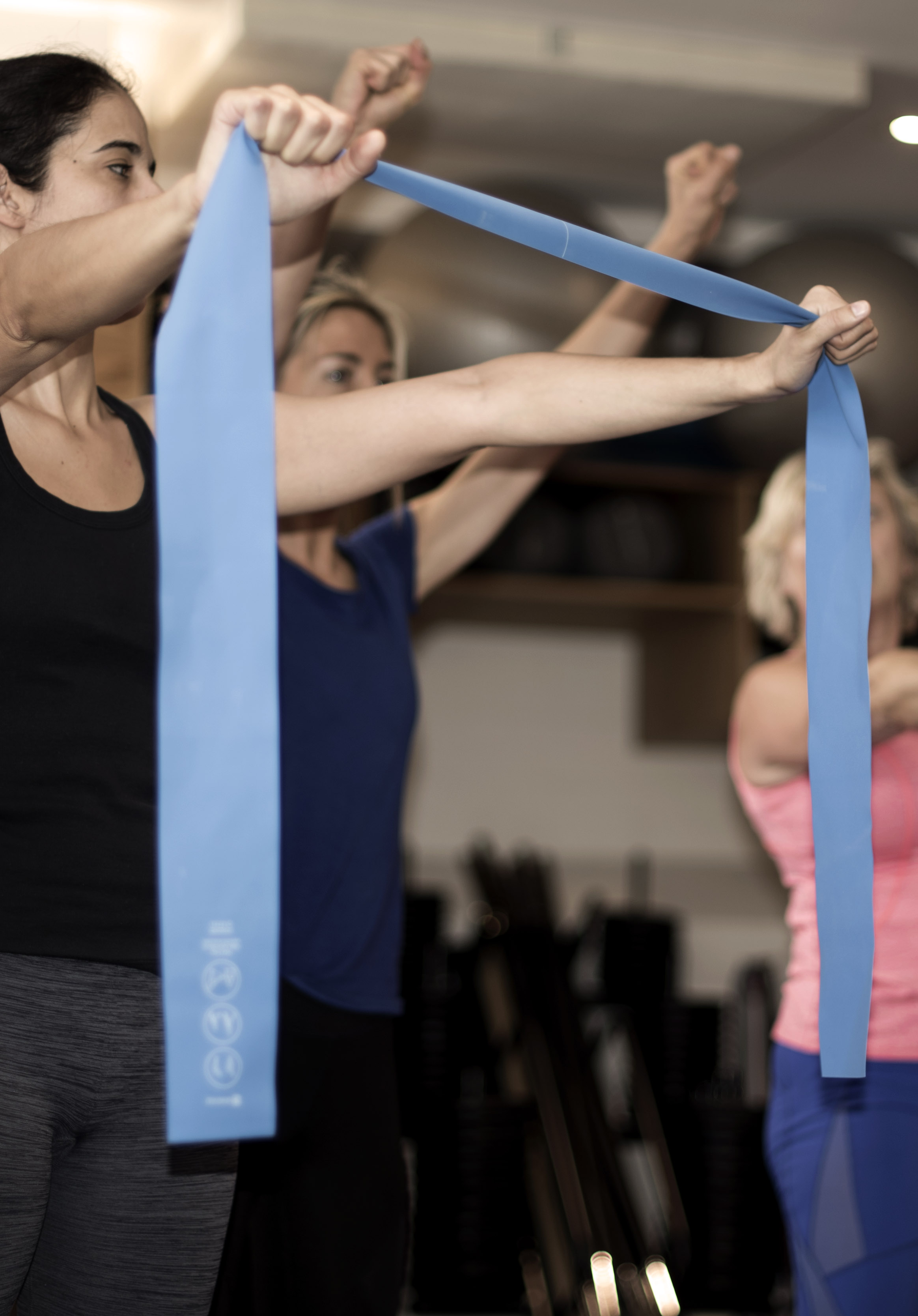 Holistic Core and Restore Course Exercises with Equipment