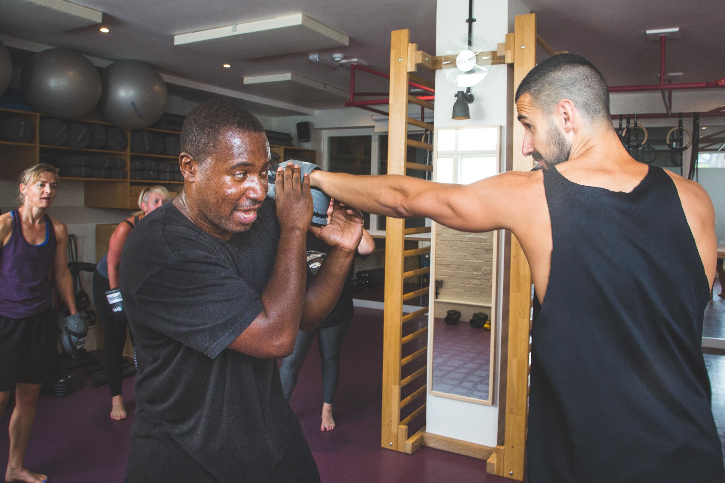 BOX FIT CLASSES WITH DANIEL