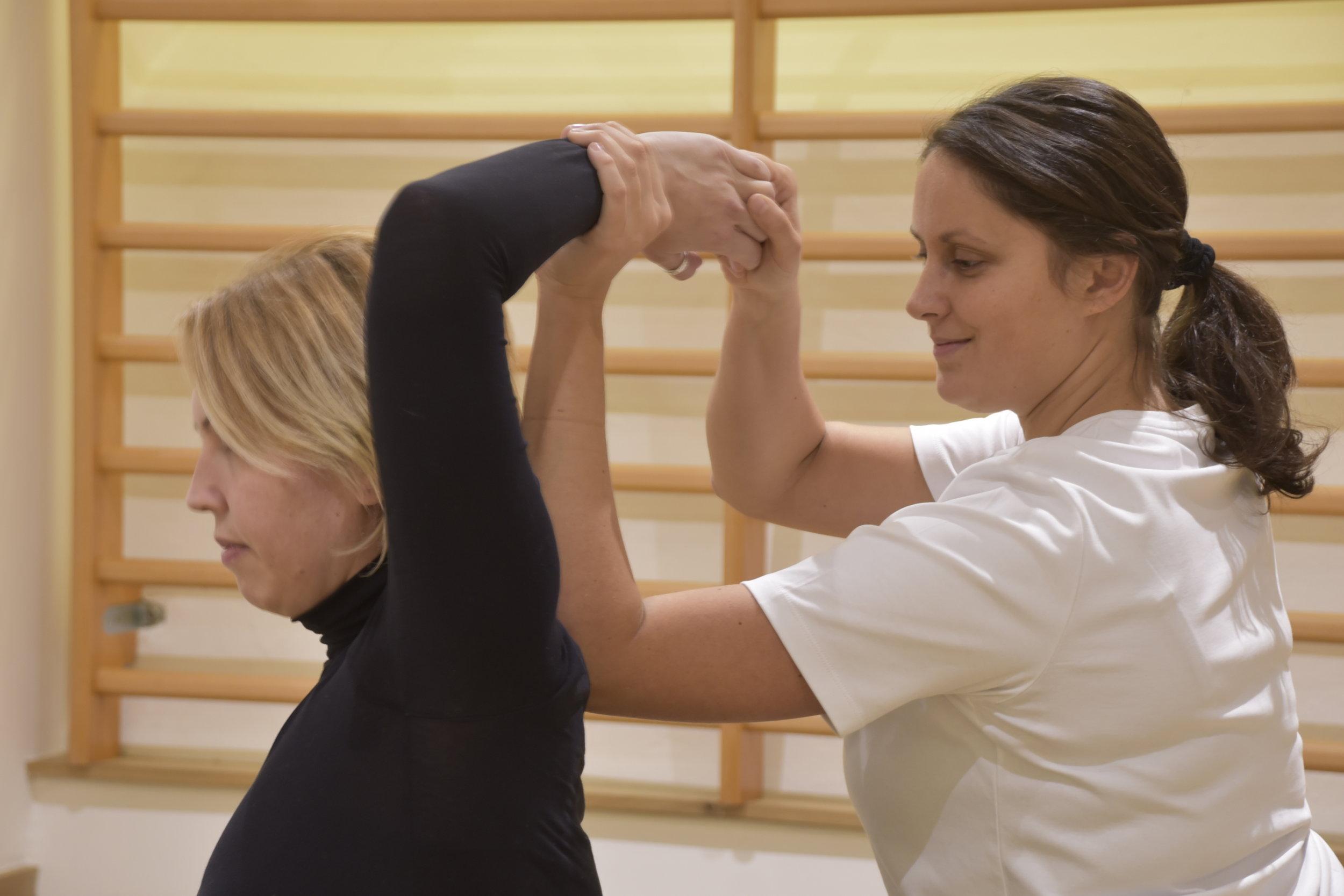 Thai Yoga Massage Positions