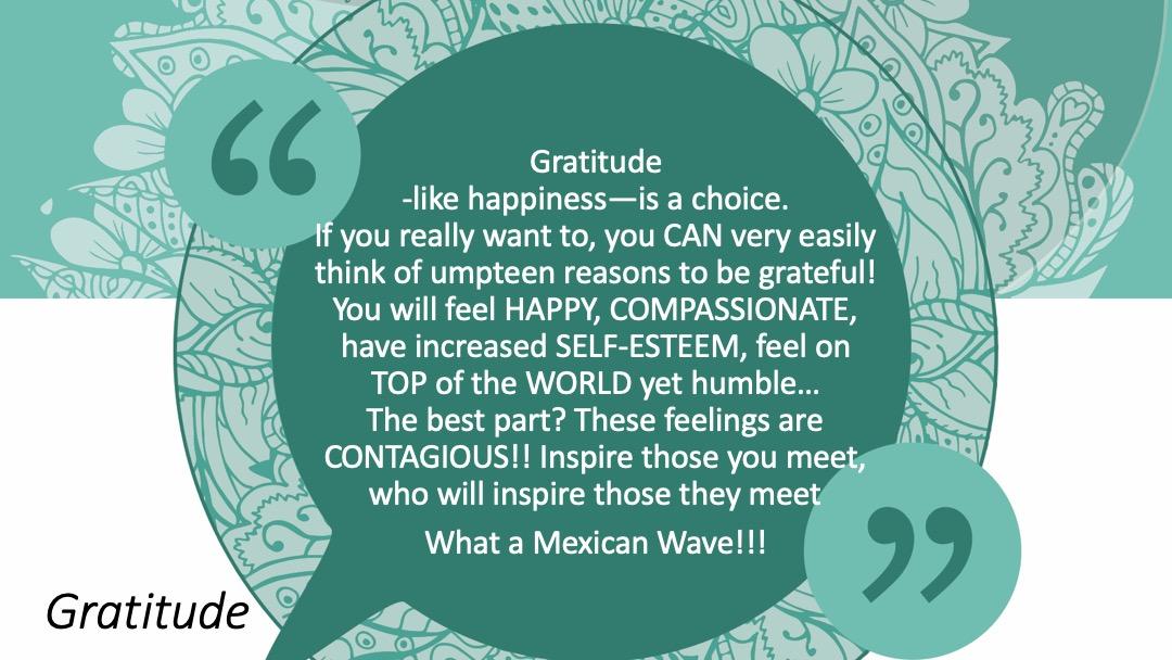 Gratitude - Quote