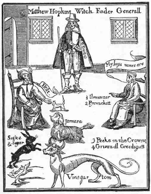 Matthew Hopkins and the Familiars -  Source
