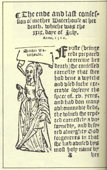 Agnes Waterhouse - The first executed Witch 1566