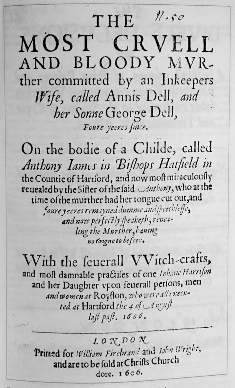 The Royston Witches 1606