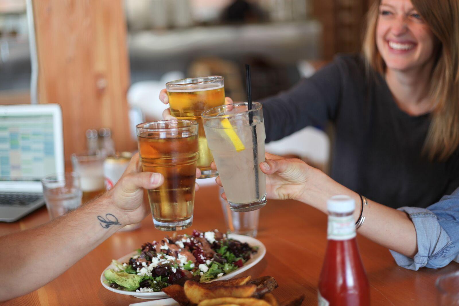 FOOD + DRINKS + COMMUNITY