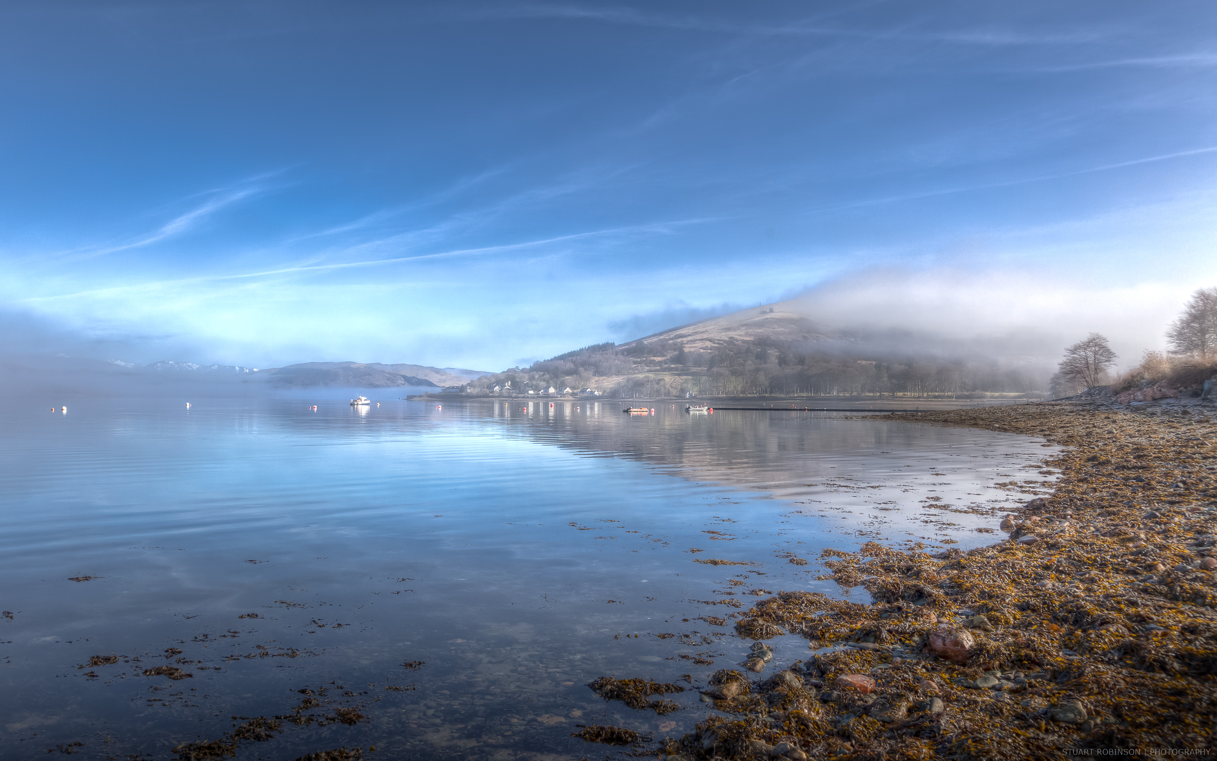 Strachur Morning Mist  - Canon EOS 5D Mark II, EF 24-105mm f4L, 45mm, 28mm, 1/320 sec at f/8, ISO 100