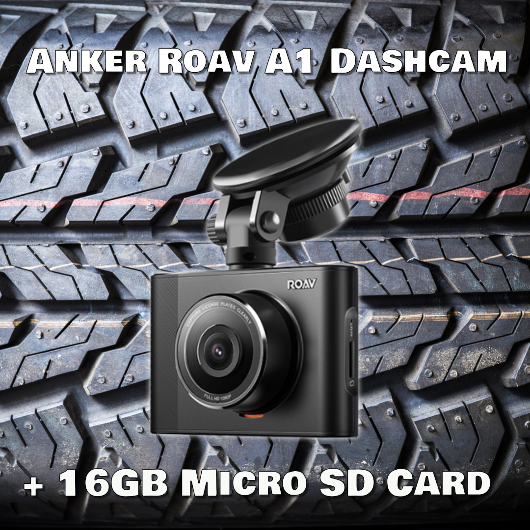 1st Place Prize - Anker Roav A1 Dashcam and a 16 GB Micro SD card. Everything you need to get recording on the road!