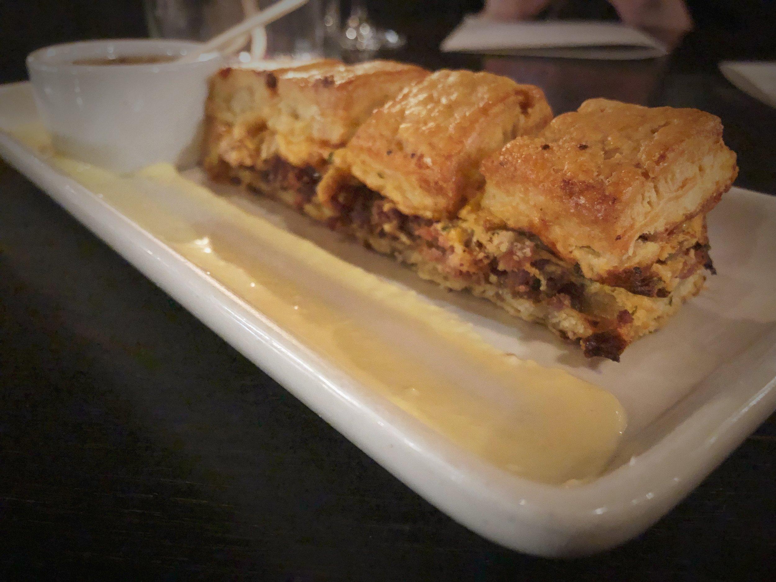 Sausage Cheddar Biscuits -