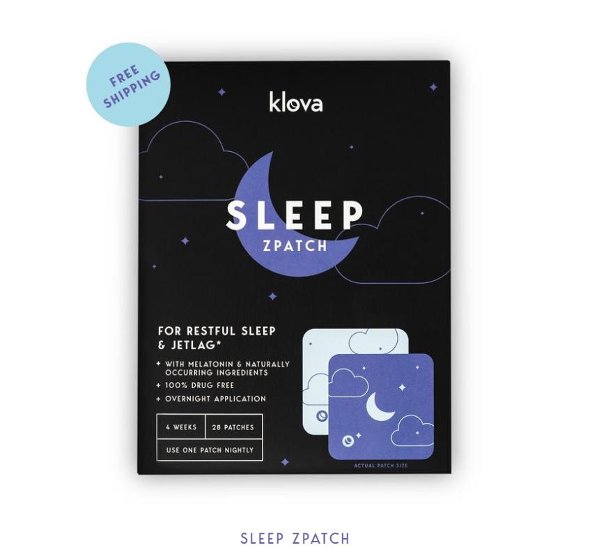 klova sleep z patch
