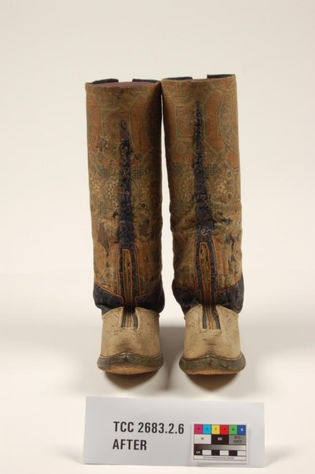 boots, after conservation
