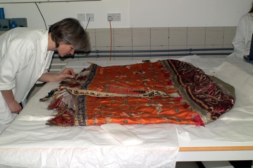Examination, before conservation
