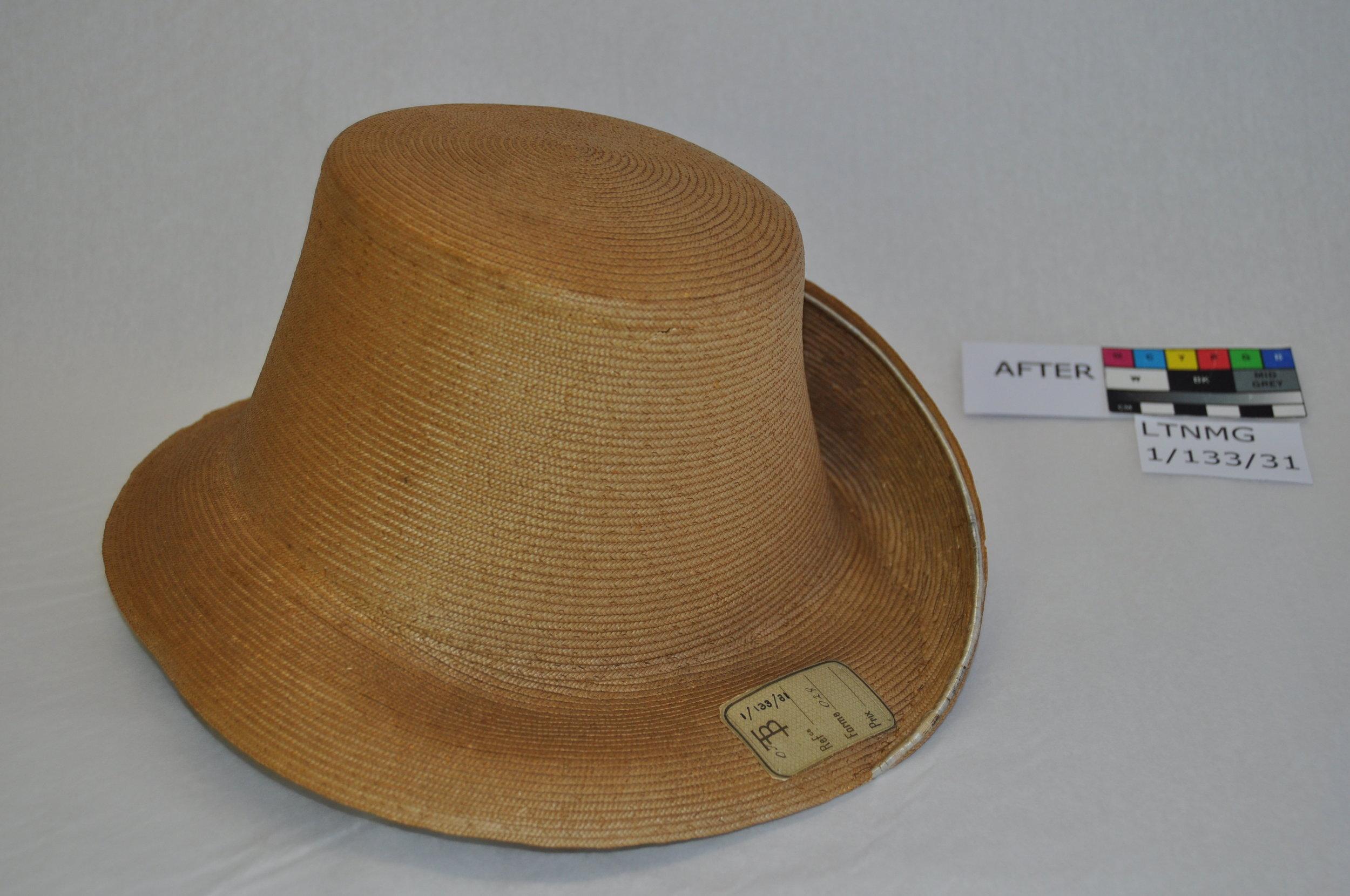 Hat LTNMG 1/133/31, after conservation