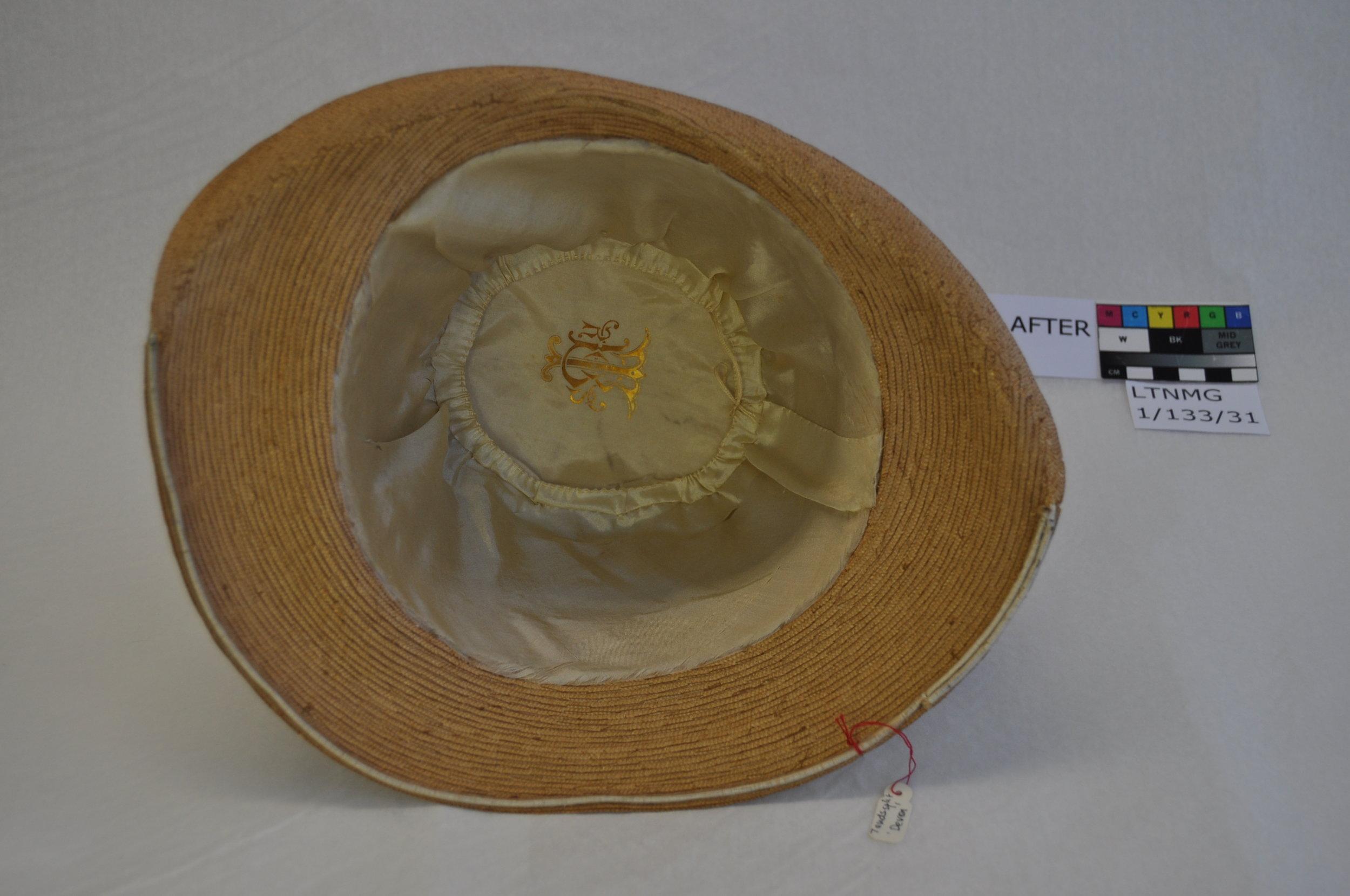 Hat LTNMG 1/133/31, after cconservation