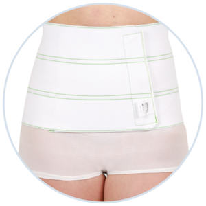 Abdominal Binders - Ideal after C-section but can be used after a wide range of surgical procedures.