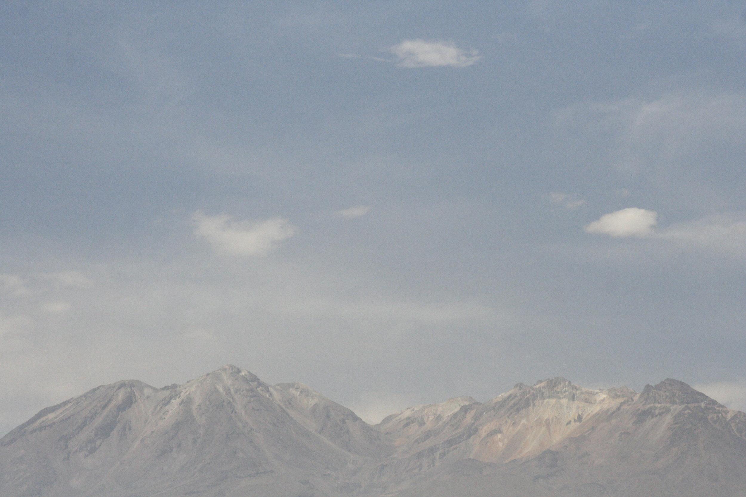 HAZE. AREQUIPA, PERU. JANUARY 2016.