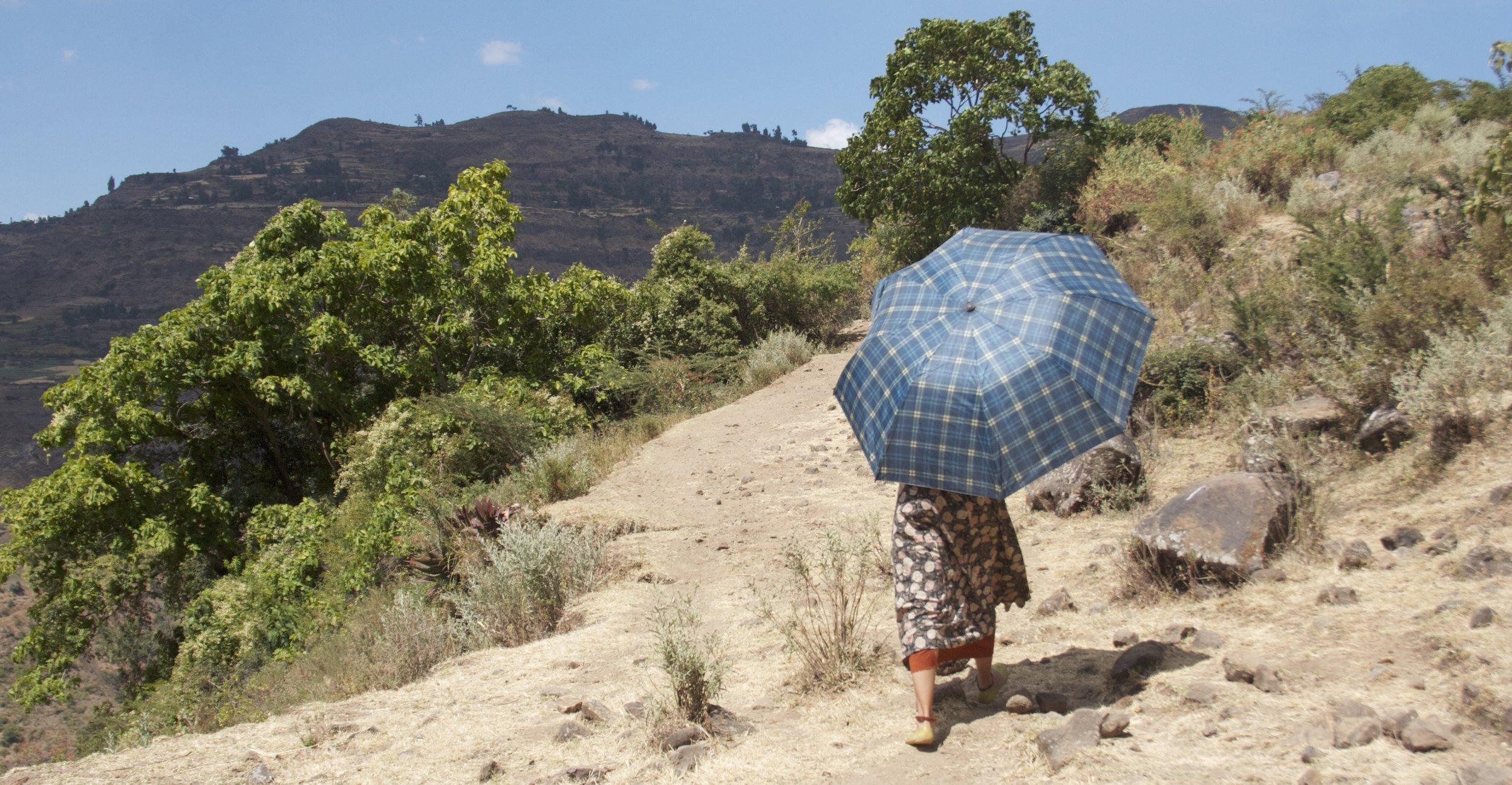 FOLLOW HER. ETHIOPIA. NOVEMBER 2016.