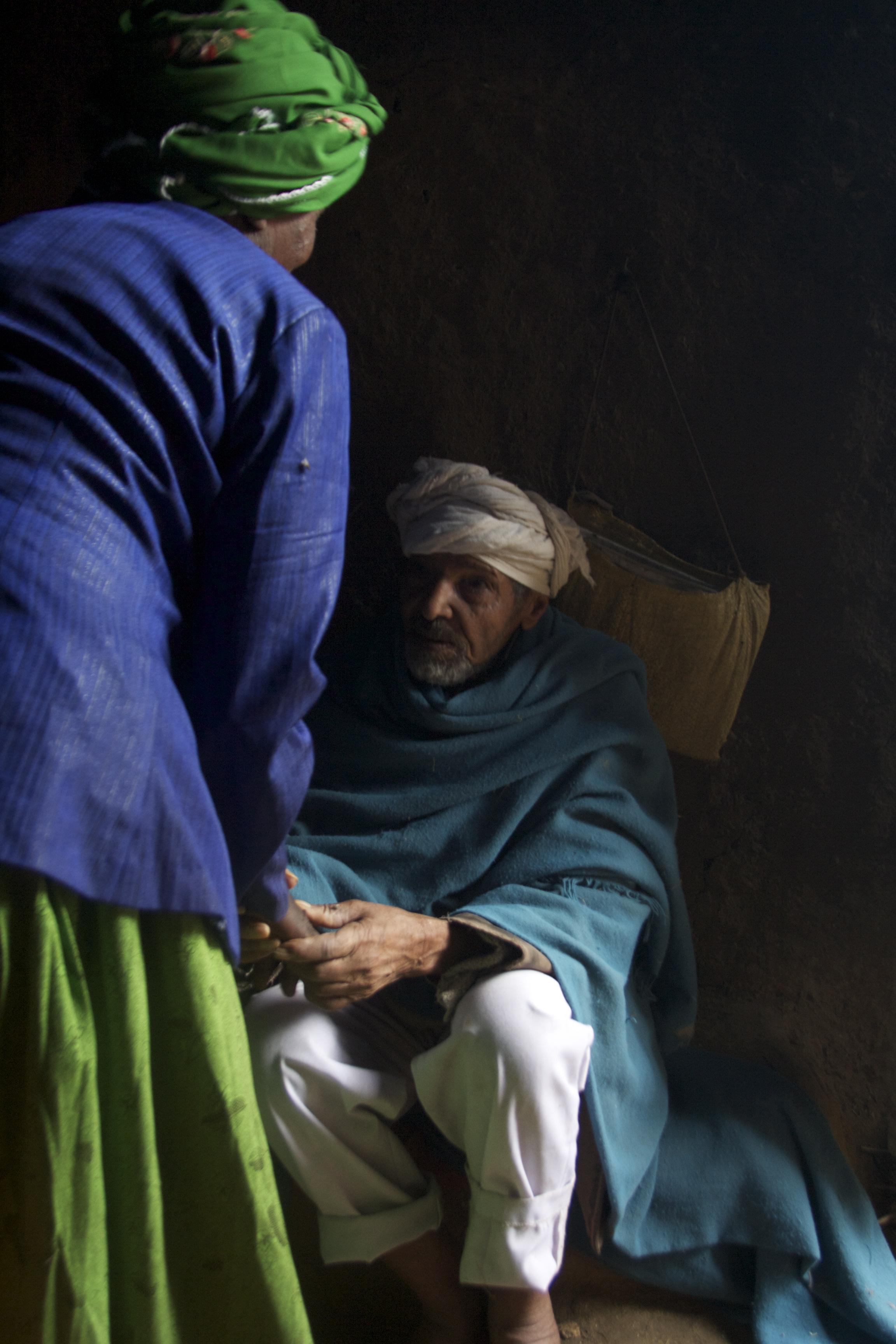 THE OLD MAN. ETHIOPIA. NOVEMBER 2016.