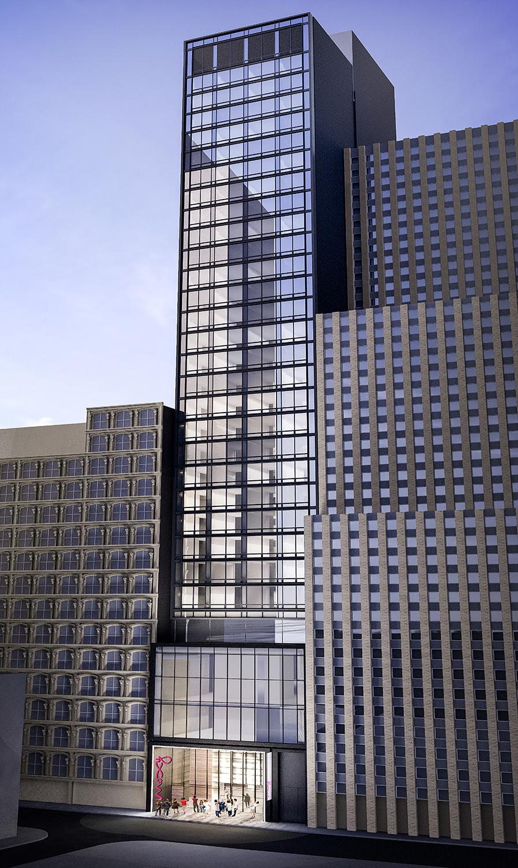 MARRIOTT MOXY HOTEL - New York, NY