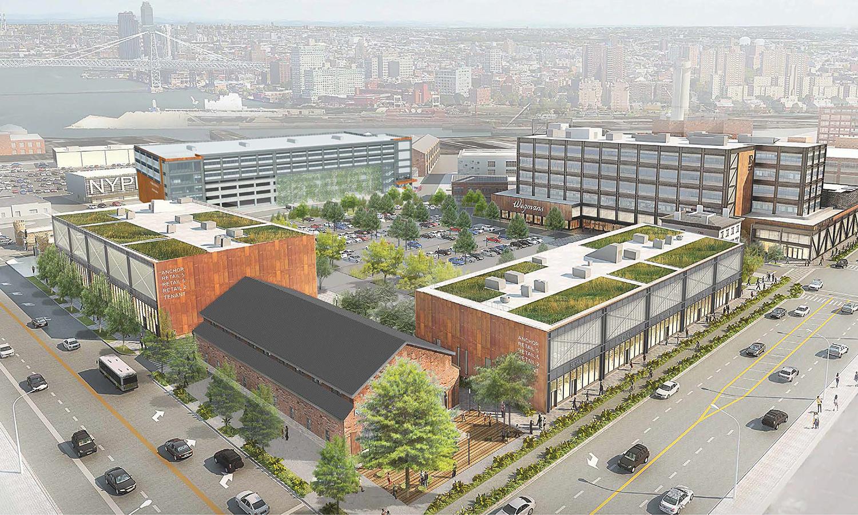 ADMIRAL'S ROW BROOKLYN NAVY YARD - Brooklyn, NY
