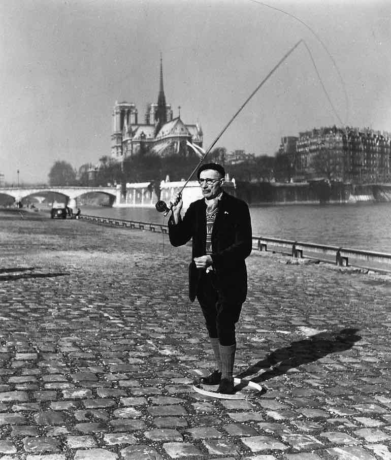 25135 Pêcheur à la mouche sèche, 1951 .jpg