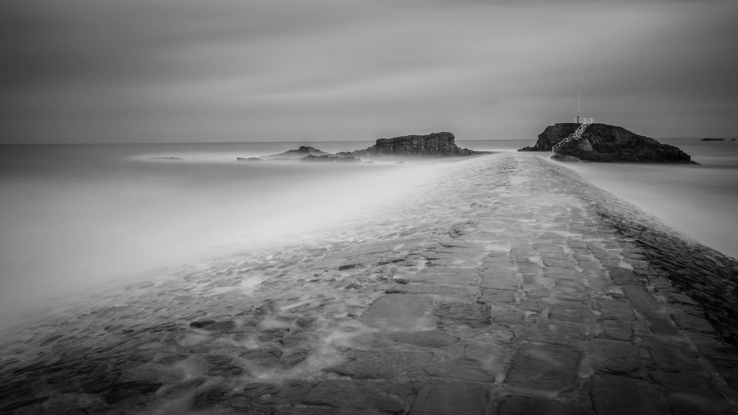 Long Exposure - Long exposure photography is a massive love of mine, i am a sucker for that ethereal look. There is a shot of Bude breakwater at high tide, with the water draping over the breakwater. I finally got the opportunity to take this shot when i was out planning to shoot a sunrise at compass point. It just goes to show always be prepared for the unexpected.