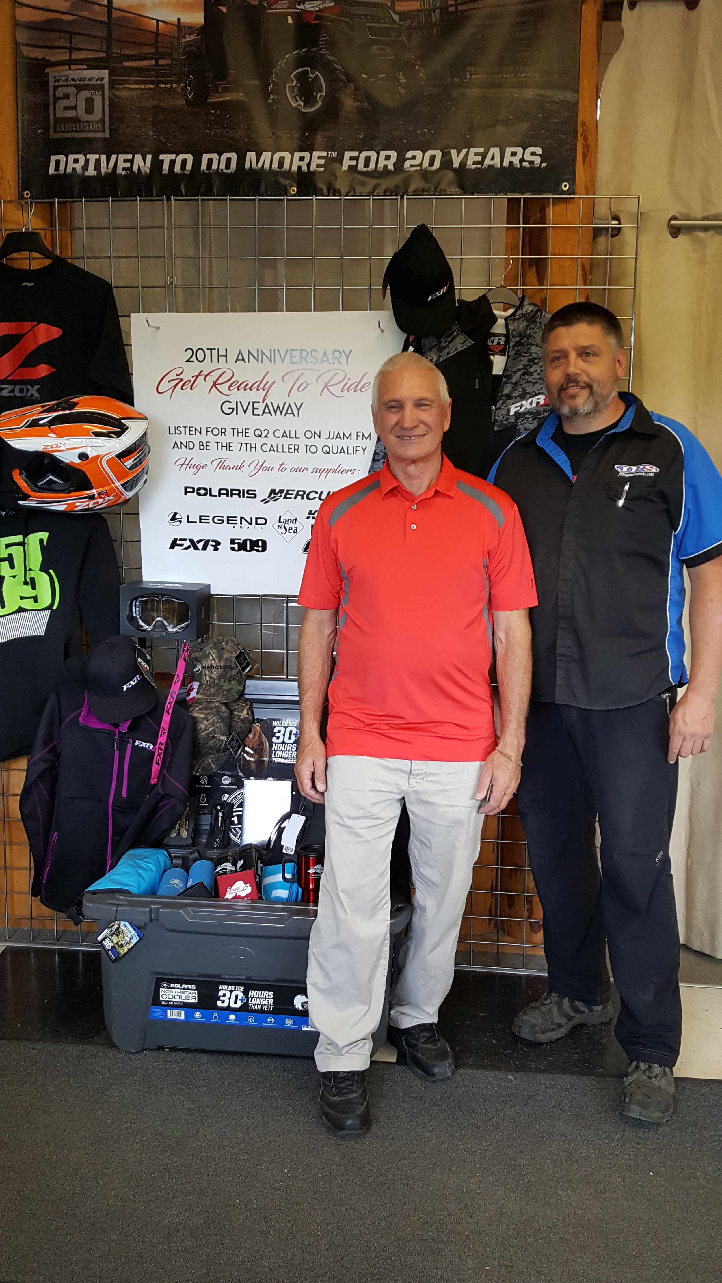 Aug 31 2018-Biggest Giveaway of the summer with Jones Power Sports Prize Pack