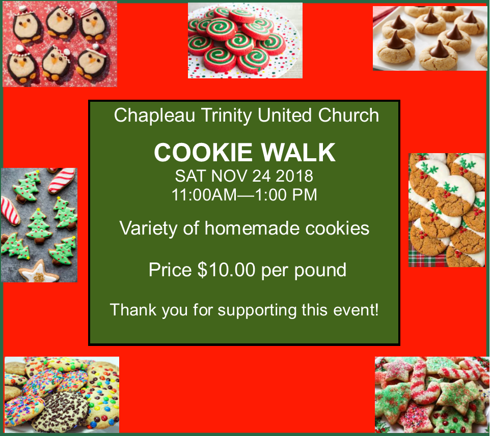 11-20-18- chapleau trinity church cookie walk nov 24 2018.png