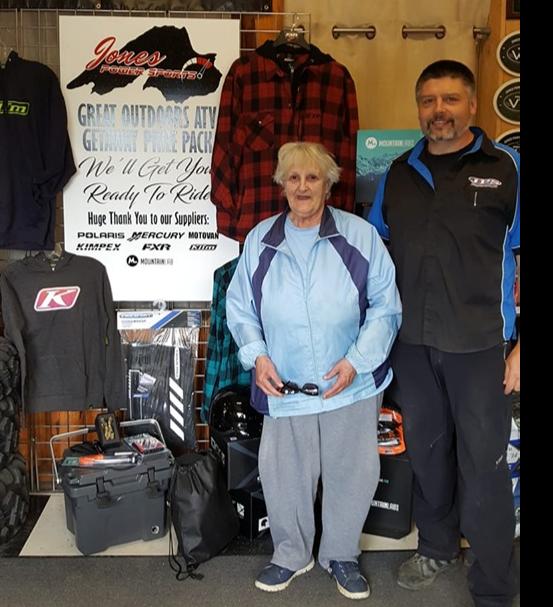 """JUNE 28 2019- Jones Power Sports """" Outdoor ATV Prize Pack"""""""