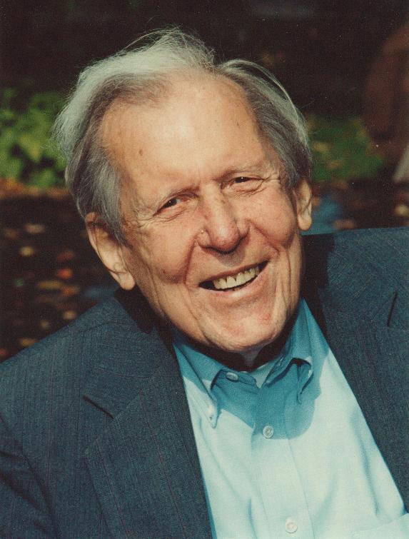 Thomas Berry (1914-2009) Photo by Lou Niznik 10–6–1999