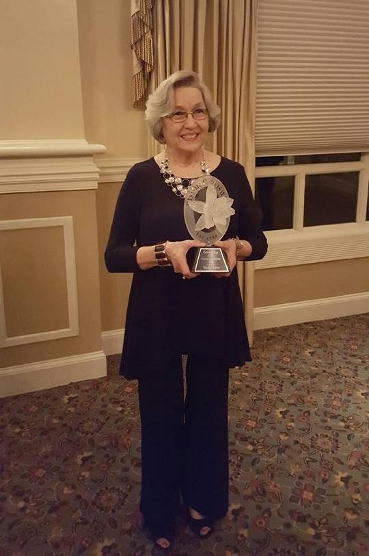 History Maker Award at 25th Anniversary of RCVB