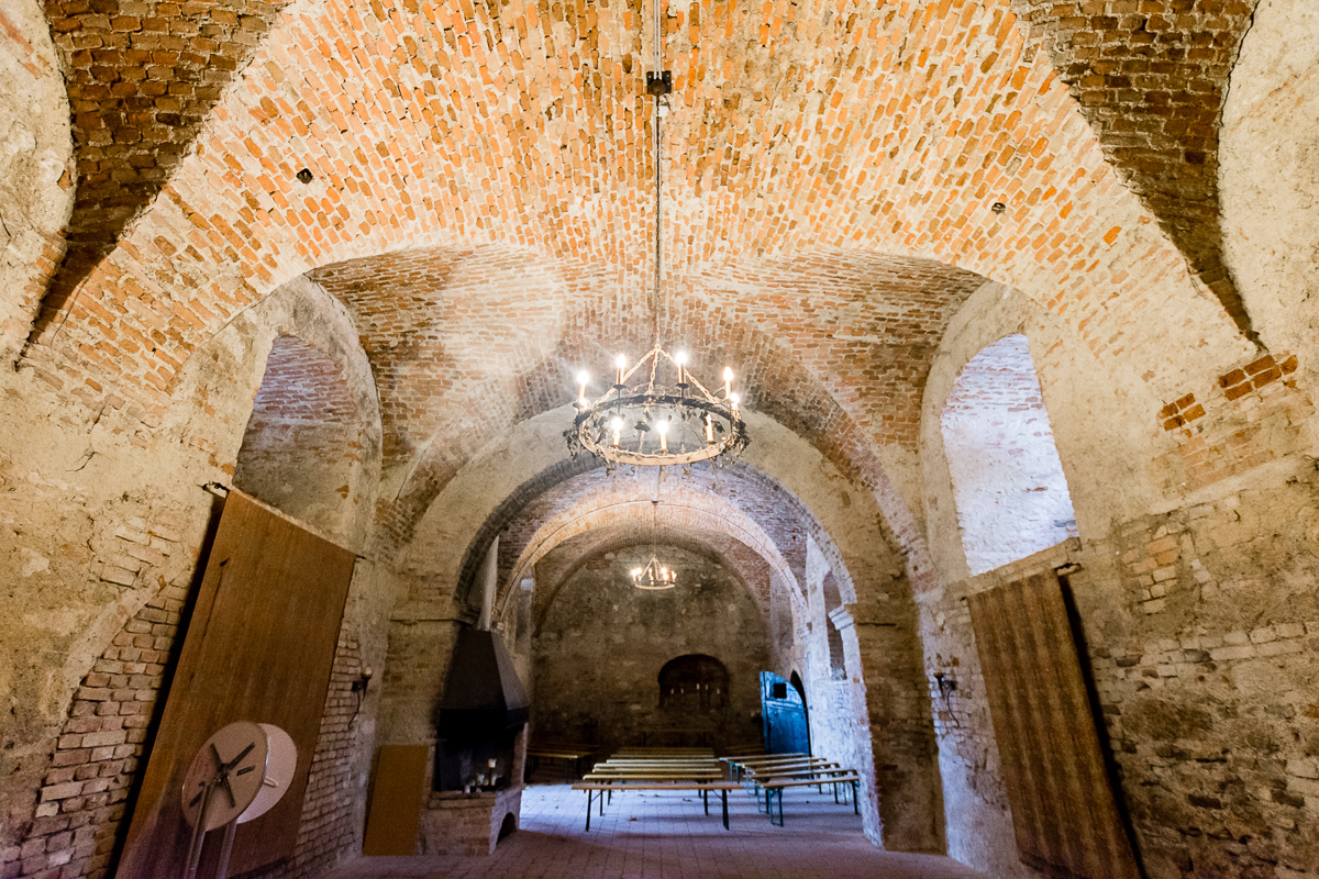 Romantischer Schlosskeller