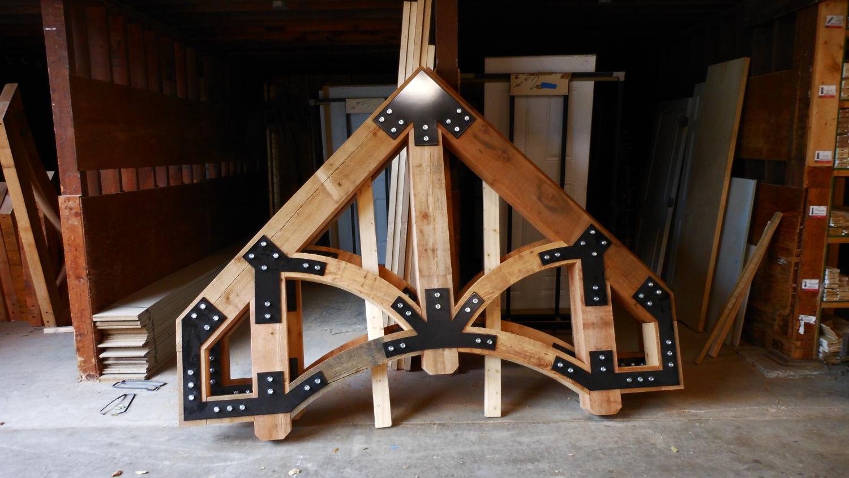 Custom Cedar Truss
