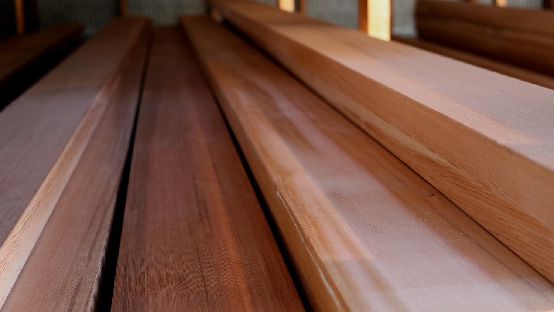 Vertical Grain Cedar