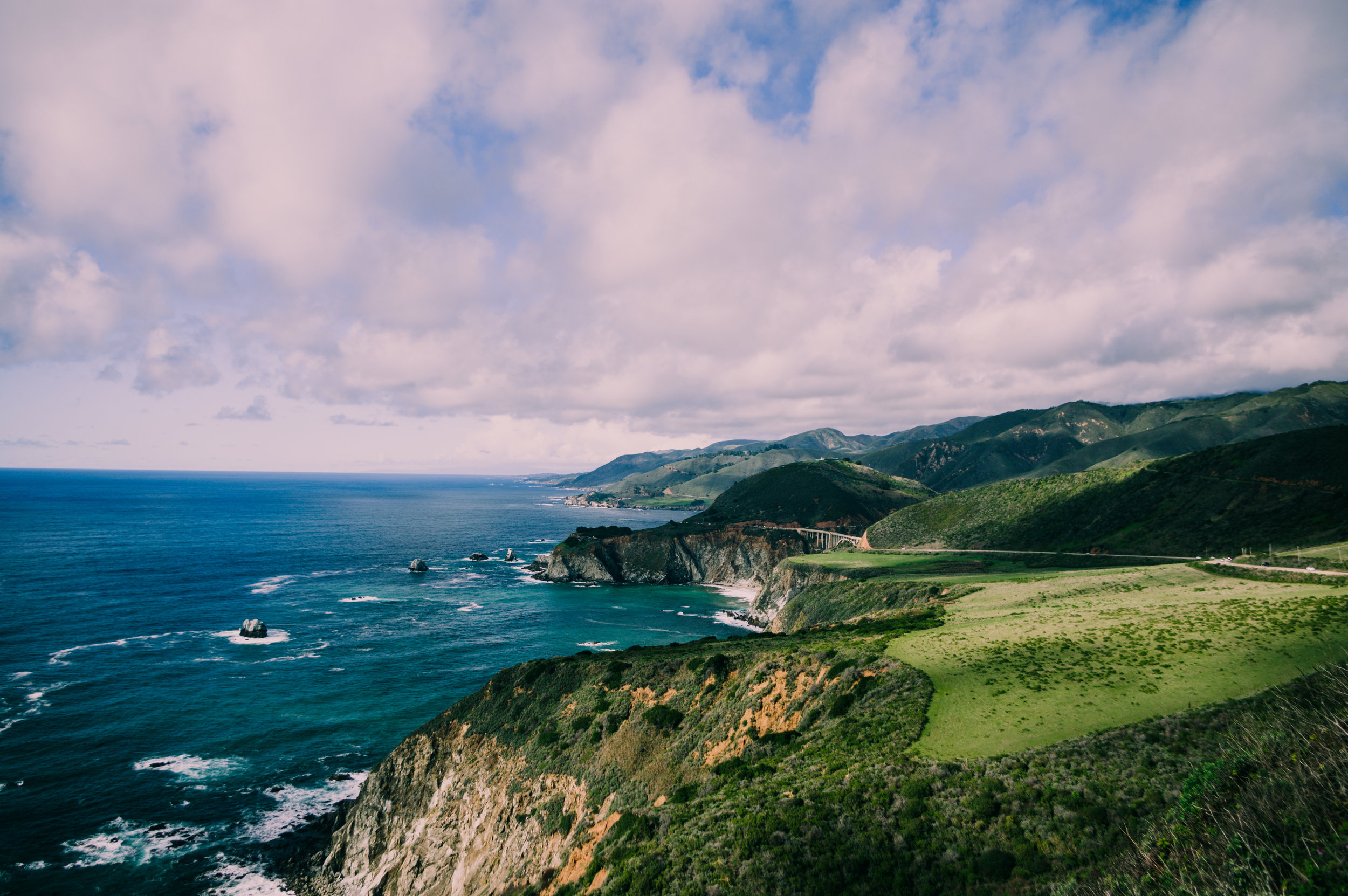 Pacific Coast Highway just north of Big Sur.